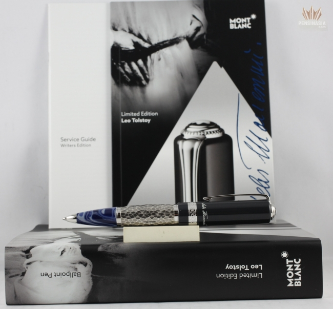 montblanc limited edition leo tolstoy